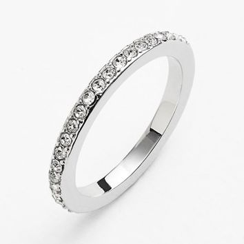 Ariella Collection Pave Midi Ring