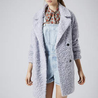 SLOUCHY WOOL BOYFRIEND COAT