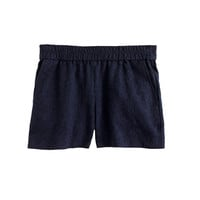 PULL-ON MATELASSÉ SHORT