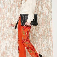 Vintage Roberto Cavalli Reef Raff Leather Pants