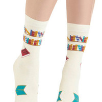 I&#x27;ve Tread Them All Socks | Mod Retro Vintage Socks | ModCloth.com