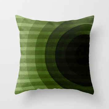 circles Throw Pillow by VanessaGF