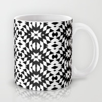 Black And White Mix Mug by Ornaart
