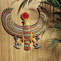 Design Toscano Horus Egyptian Wall Plaque - AH22206 - Decor