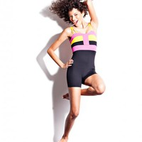 Color Block Uni | Dance Unitards for Girls - Jo+Jax