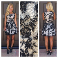 Amazing Grace Floral Lace Dress
