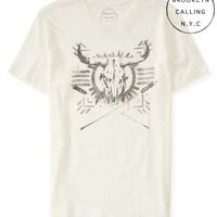 Brooklyn Calling Longhorn Graphic T