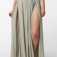 Ecote Double Slit Skirt