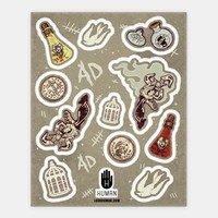 Bioshock Infinite Stickers