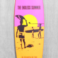 "DUSTERS 42"" ENDLESS SUMMER LONGBOARD COMPLETE"