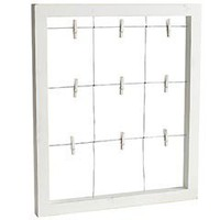 Pier 1 Imports - Product Details - White Window Wall Frame