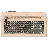 Premium Leather Stud Purse - Bags & Purses  - Accessories  - Topshop