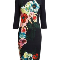 ERDEM | Floral Jersey Dress | Browns fashion & designer clothes & clothing