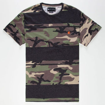 Billabong Invert Camo Mens T-Shirt Camo Green  In Sizes