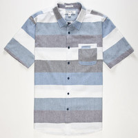 Ezekiel Waxon Mens Shirt Blue  In Sizes