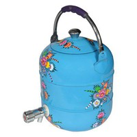 Milly Canteen in Blue - Collection Kolore on Joss and Main