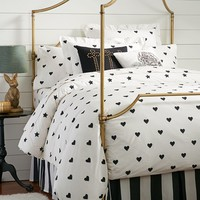 The Emily + Meritt Heart And Star Duvet Cover + Sham