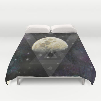 Feeling a little spacey today Duvet Cover by DuckyB (Brandi)