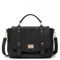 Sole Society Presley Vegan Leather Messenger