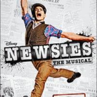 Newsies the Musical Broadway Poster