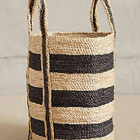Lost & Found Woven Stripe Basket
