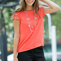 SEABRYN EMBELLISHED TOP