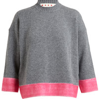 MARNI | Cashmere Colour Block Sweater | Browns fashion & designer clothes & clothing