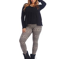 Tribal Legging | Wet Seal