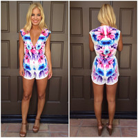 Key Largo Sublimated Romper