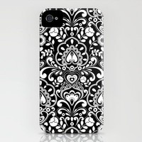 Black Tie iPhone Case by Diane Kappa | Society6