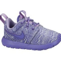 Nike Roshe Run Print 10.5c-3y Preschool Girls' Shoes - Pure Platinum