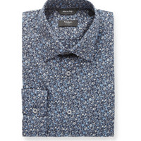Paul Smith London - Navy Flower-Print Cotton Shirt | MR PORTER
