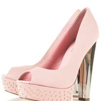 STACCATO2 Peep Stud Platforms - Heels  - Shoes  - Topshop