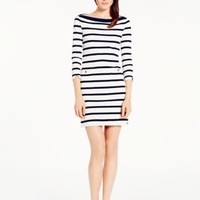 stripe boatneck dress - kate spade new york