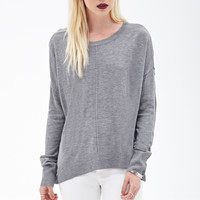 Inverted Seam Knit Sweater