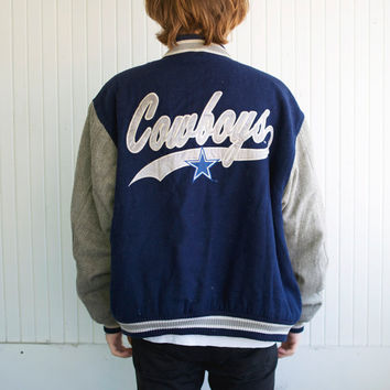 90's Dallas Cowboys Varsity Jacket