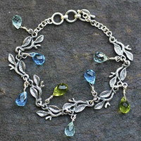 Novica Rainforest Sterling Silver Charm Bracelet | Jewelry and Accessories | World Market