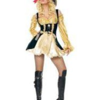 Sexy Yellow Pretty Halloween Adult Pirate Costume - Prices & Buy at ShopSimple.com
