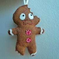 Felt Ornaments, Gingerbread Man, Gifts For Men | Luulla