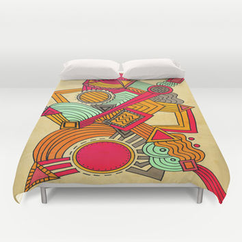 Semi Erratic Duvet Cover by DuckyB (Brandi)
