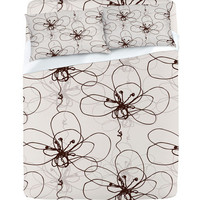 DENY Designs Home Accessories | Rachael Taylor Tonal Floral Sheet Set