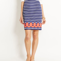 Shop Skirts: Border Print Pencil Skirt for Women | Vineyard Vines