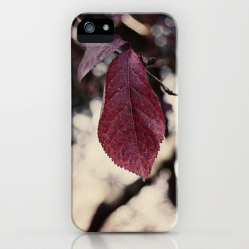 autumn leaf  iPhone & iPod Case by VanessaGF