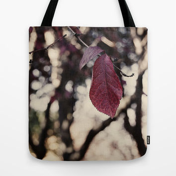 autumn leaf  Tote Bag by VanessaGF