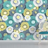 Organic - Multi Coloured  Teal - Rachael Taylor - Brand - Wall...
