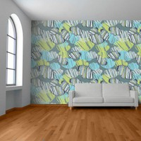 Quirky Orient - Clay Blue - Rachael Taylor - Brand - Wallpapers