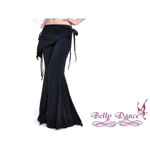 Belly Dance Costume Tribal Yoga Pants Black