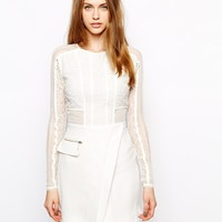 Three Floor La Blanc Dress