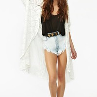 Nasty Gal x MINKPINK Angel Lace Cape