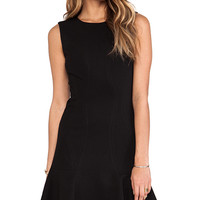 Diane von Furstenberg Jaelyn Dress in Black